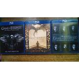 Game Of Thrones - Juego De Tronos Temporada 4,5 Y 6 Blu Ray