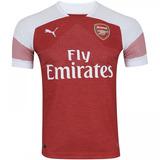 Camisa Do Arsenal Jogador Puma Vermelha Nova Pronta Entrega
