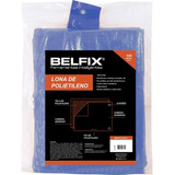 Lona 3 X 3 M / Encerado De Polietileno Azul Belfix 67800