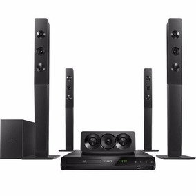 Home Theater Philips 1000w Rms 5.1 Bluetooth- Htd5580