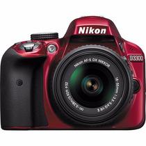 Câmera Nikon Profissional D3300-18-55mm Vr Ii 24.2mp Full Hd