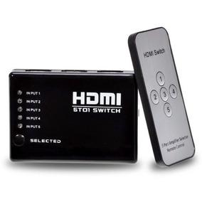 Mini Switch Hdmi 5 Portas Playstation Xbox Dvd Tv Lcd