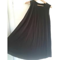 Vestido Negro De Lycra Negro