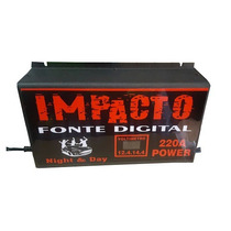 Fonte Automotiva Impacto. 220 Amperes, 12v À 14,4v - Novo