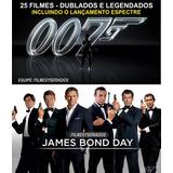 007 James Bond Coleção Completa Em Hd 26 Dvd