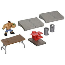 Coleccionable John Cena W / Paquete De Crash Playset - Wwe