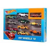 Hot Wheels Set De Carritos 10 Unidades