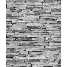 Papel Tapiz 31122 Lavable Textura Madera Ladrillos Moderno