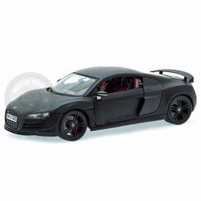 Miniatura Audi R8 Gt Preto Maisto Premiere Edition 1/18