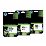 Cartuchos Hp 920xl Color Y M O C X1un. Officejet 7500a Wis!