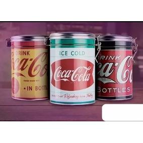 Latas Coca Cola Cierre Hermético Pack X 3 Coleccion Lote