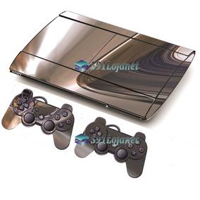 Skin Adesivo Playstation 3 Ps3 Slim Vinil Pelicula Skin