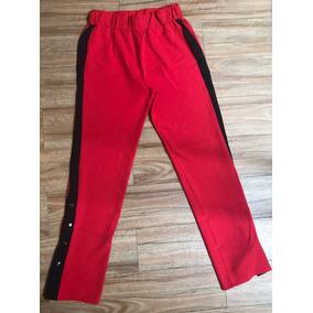 Pantalon Tira Lateral Y Broches