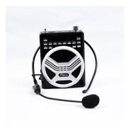 Bocina Portatil Megafono Con Microfono De Diadema