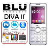 Blu Diva 2 Dual Sim Flash Camara Tv Radio Liberado
