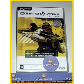 Counter Strike Source Última Versão Pc Mídia Física Original