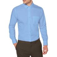 Kit 3 Camisas Sociais - Tradicional - Cores Personalizadas
