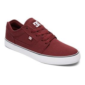 Tenis Calzado Hombre Zapato Casual Tonik Oxb Vino Dc Shoes