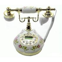 Telefone Rosa Vintage Antigo Retro Decoração Frete Gratis