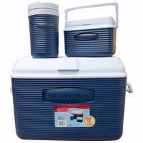 Hielera Combo 3 P. 48, 5 Y 1/2 Cuartos A1702 Azul Rubbermaid