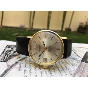 Reloj Omega Electronic F 300 Haz De Ville Chronometer Vintag
