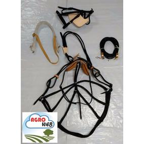 Arreata Nylon Arreio Carroça Charrete Promoção Kit Completo