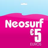 Tarjeta De Regalo Neosurf 5 Euros Voucher