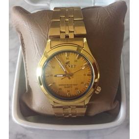 3be1d98cf23 Relogio Tecnet De Ouro - Relógio Masculino no Mercado Livre Brasil