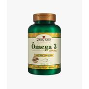 Omega 3 Óleo De Peixe 1000mg -120 Cápsulas - Vitaly Bella