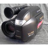 Filmadora Vhs Panasonic Palmcorder Vj58 Funciona + Bolso Etc