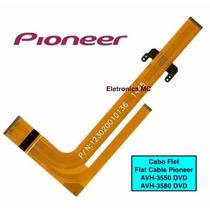 Cabo Flet Flat Flex Dvd Pioneer Avh 3500 3550 3580
