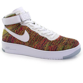 Tênis Nike Air Force 1 Flyknit Mid - Way Tenis