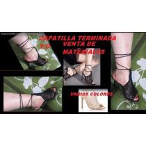 Zapatos,botas En Crochet Tejidos Y Venta De Materiales
