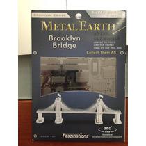 Brooklyn Bridge Metal Earth 3d Laser Envio Gratis