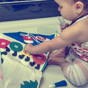 Livro De Pano Infantil -quiet Book (frete Gratis)
