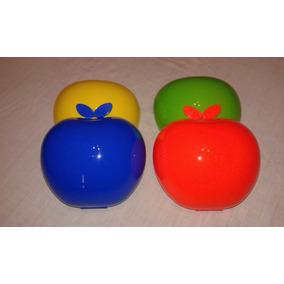 Loncheras Plasticas Infant Forma Manzanita $ 22 C/u
