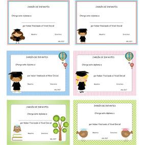 Diplomas De Egresados Jardín, Primaria,cursos, Empresa,