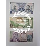 Billetes Colombia Antiguos. Originales. Últimos Disponibles!