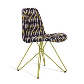 Cadeira Eames Butterfly Colorido E Preto