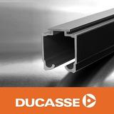 Riel U-21 Aluminio Para Puerta Corrediza Ducasse 2 Mts