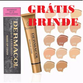 Base Dermacol Make Up Cover De Alta Cobertura 30gr + Brinde