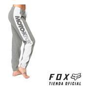 Pantalón Fox Mujer Team Fox Fleece  #22845-185 - Oficial