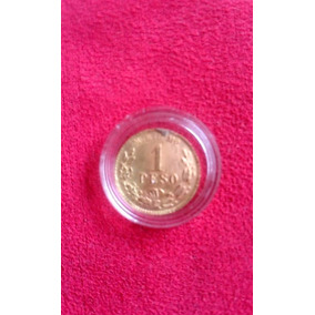 Moneda Antigua Oro Siglo Xix 1 Peso Mo. 1886 M Rara F