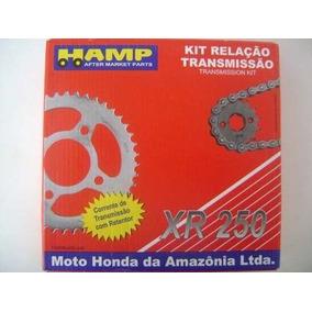 Kit Relação Tornado / Xr 250 Original Honda Hamp Transmissão