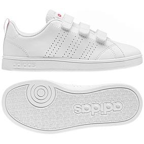 Kids Tenis adidas Vs Adv Ci Cmf Bb9978 Blanco Pv