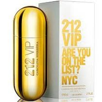 Perfume 212 Vip Dama De Carolina Herrera Original 80 Ml