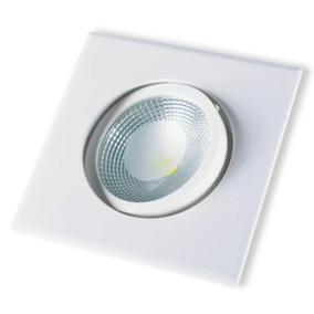 Spot Led Cob Startec 5w Quadrado Luz Branco Neutro 400 Cd