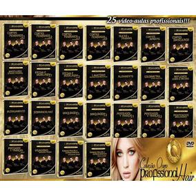 Curso Cabeleireiro De La Lastra Coleção 25 Dvd Ouro Especial