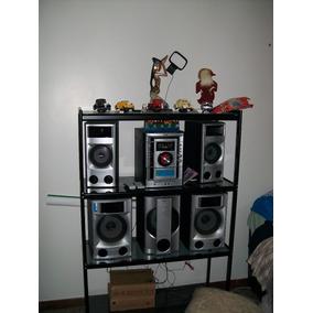 Equipo De Sonido Sony Con Cornetas Soundroun Y Un Bajo