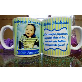 Caneca De Porcelana Personalizada Para Casamentos + Caixinha